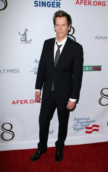 Kevin Bacon  at Star Studded Arrivals at '8' Premiere