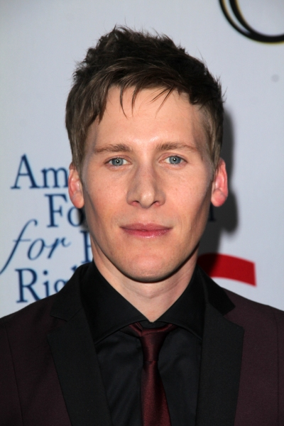 Dustin Lance Black at Star Studded Arrivals at '8' Premiere