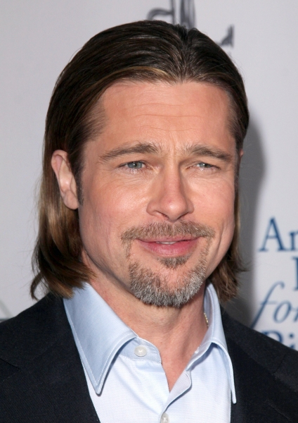 Brad Pitt at Star Studded Arrivals at '8' Premiere
