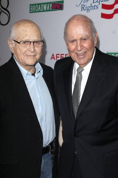 Norman Lear and Carl Reiner