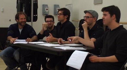 Kurt Deutsch, Jacob S. Porter, Brett Ryback, Ryan Scott Oliver, Michael Bello
