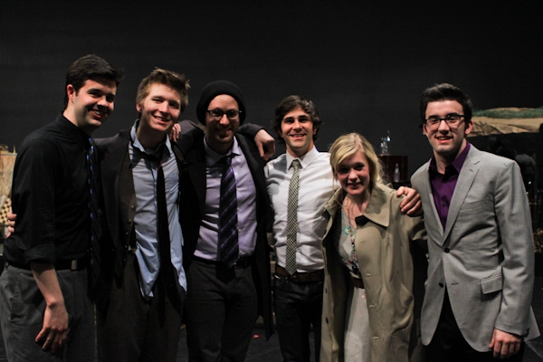 Michael Bello, Maximilian Sangerman, Ryan Scott Oliver, Brett Ryback, Lauren Chapman and Jacob S. Porter