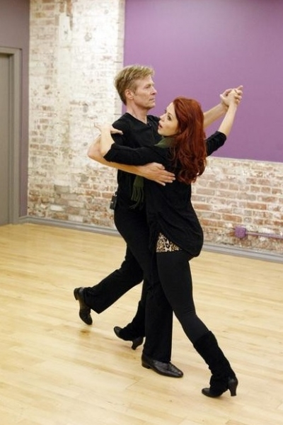 Jack Wagner & Anna Trebunskaya at First Look - DWTS Season 14 Contestants in Rehearsals!