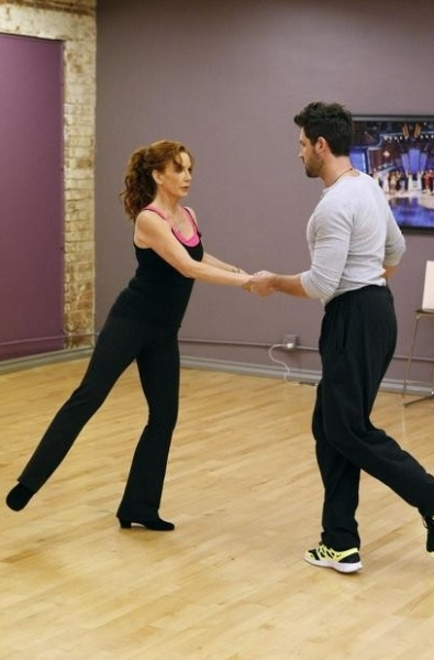 Melissa Gilbert & Maks Chmerkovskiy at First Look - DWTS Season 14 Contestants in Rehearsals!