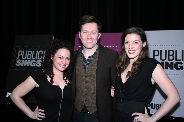 Photo Coverage: Benjamin Walker, Kelli O'Hara & More at Public Sings! Benefit