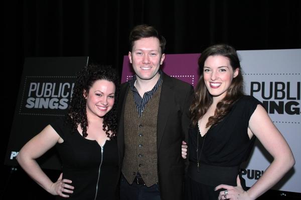 Photo Coverage: Benjamin Walker, Kelli O'Hara & More at Public Sings! Benefit