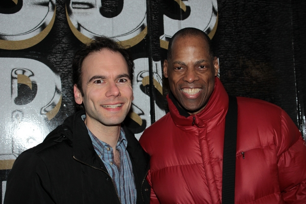 Ricky Yates, Adrian Bailey at Broadway Welcomes JESUS CHRIST SUPERSTAR to the Great White Way