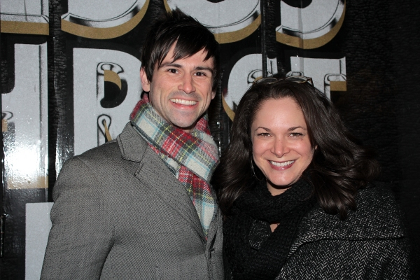 Jonathan Warren, Betsy Werbel at Broadway Welcomes JESUS CHRIST SUPERSTAR to the Great White Way