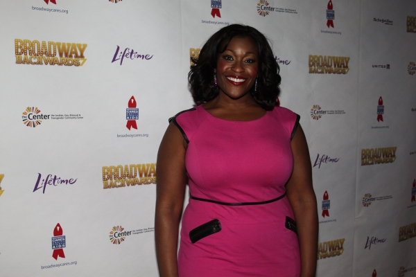 Cicily Daniels at Meet the BROADWAY BACKWARDS 7 Cast!