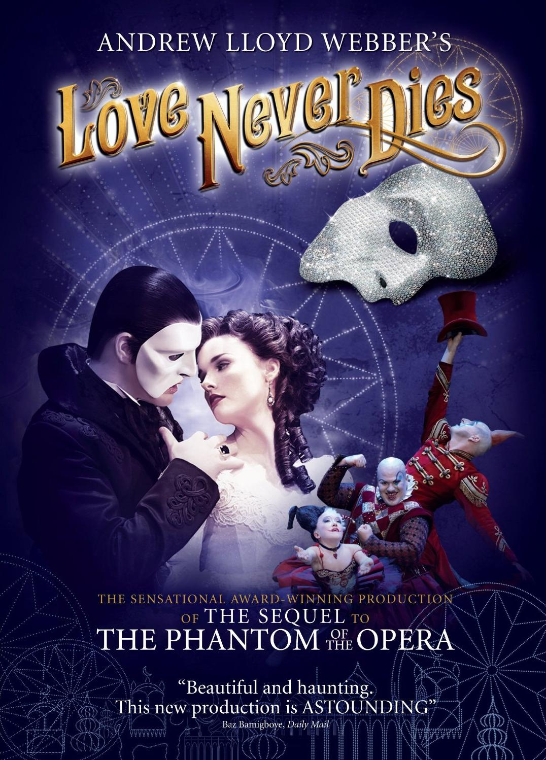 LOVE NEVER DIES Special Interview: Anna O'Byrne