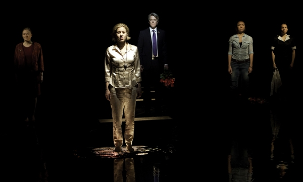 Sarah Dodd, Nicole Underhay, Rick Roberts, Claire Calnan, Raquel Duffy at Tarragon Theatre's SMALL ROOM Production Photos