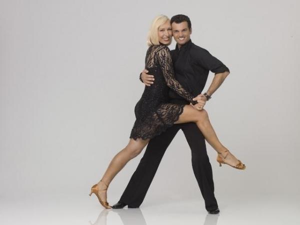 Martina Navratilova & Tony Dovolani at First Look at DWTS Season 14 Contestants!