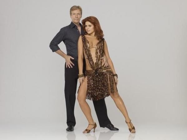 Jack Wagner & Anna Trebunskaya  at First Look at DWTS Season 14 Contestants!