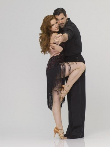 Melissa Gilbert & Maksim Chmerkovskiy  at First Look at DWTS Season 14 Contestants!