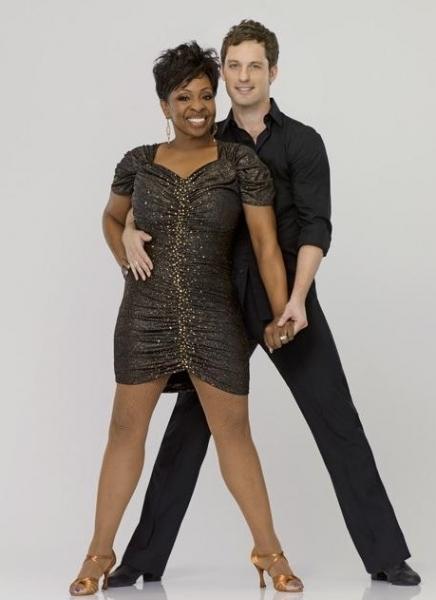 Gladys Knight & Tristan Macmanus at First Look at DWTS Season 14 Contestants!
