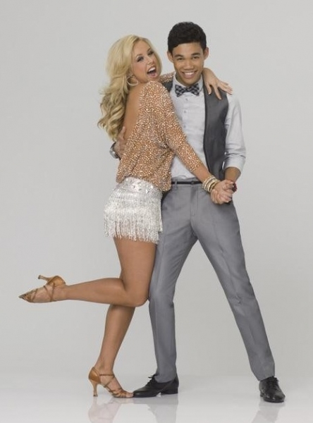 Chelsie Hightower & Roshon Fegan