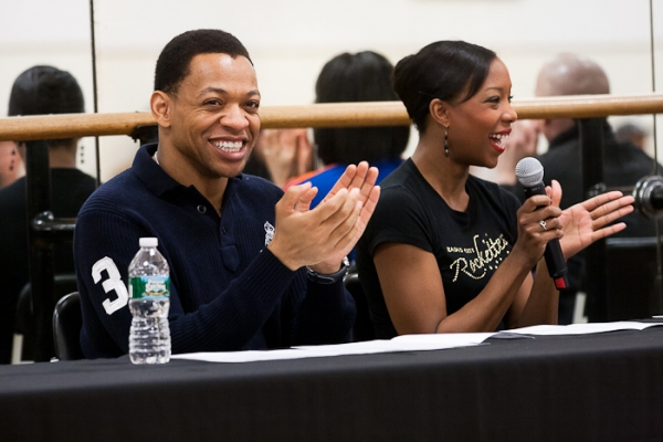 Photo Coverage: Tony Vincent, Derrick Baskin & More Mentor Garden of Dreams Talent Show