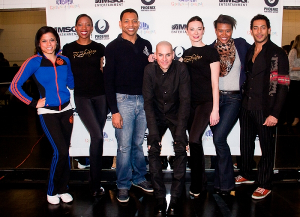 Latoya Brooks, Danelle Morgan, Derrick Baskin, Tony Vincent, Corinne Tighe, Christina Photo