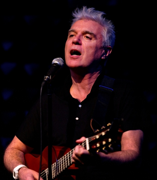 David Byrne at Public Sings! Production Shots - Norm Lewis, Benjamin Walker & More