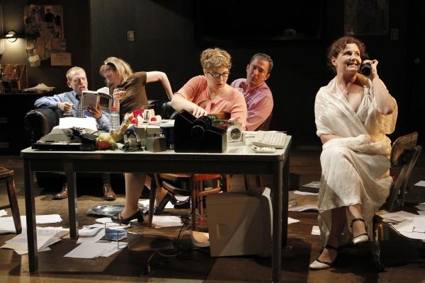 Scott Shepherd, Annie McNamara, Kate Scelsa, Vin Knight and Laurena Allan in GATZ, cr Photo
