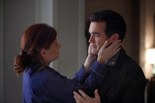 Debra Messing & Brian d'Arcy at New Photos From March 12th SMASH