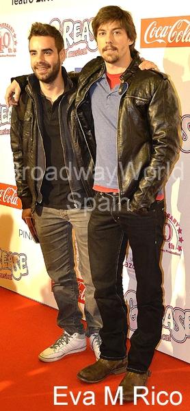 David Carrillo y Adrian Lastra