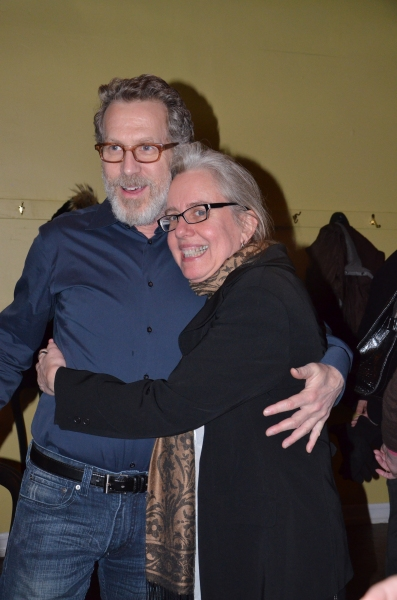 Photo Flash: Denis O'Hare, Stephen Spinella Celebrate Opening of AN ILIAD