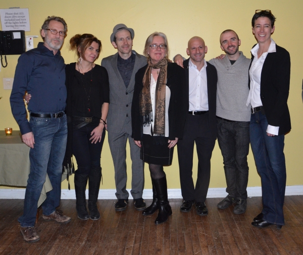 Stephen Spinella, Marina Draghici, Denis O'Hare, Lisa Peterson, Mark Bennett, Brian Ellingsen and Rachel Hauck