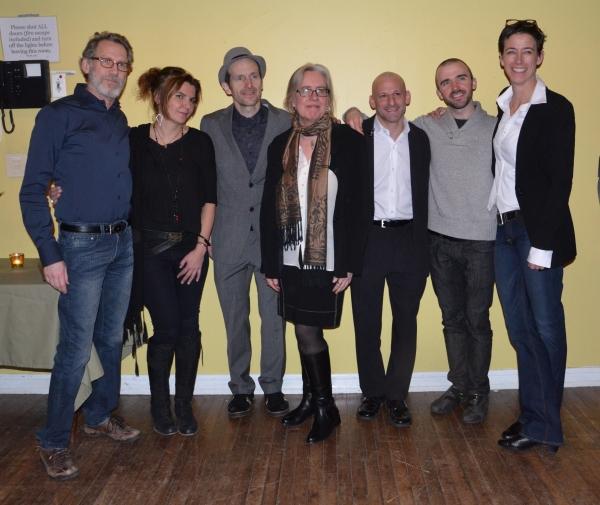 Stephen Spinella, Marina Draghici, Denis O'Hare, Lisa Peterson, Mark Bennett, Brian Ellingsen and Rachel Hauck