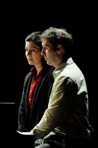 Angela Brazil (Melissa) and Mauro Hantman (Bobby)