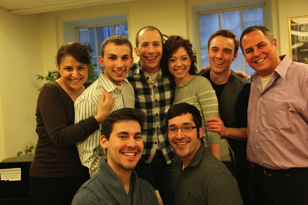 Old Library Theatre's Next to Normal cast with Charlie Alterman and Charles Santoro Photo