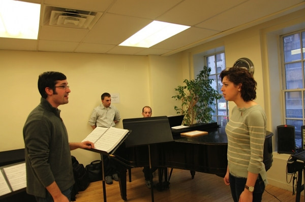 Alan Van Antwerp, Michelle Lauto at Old Library Theatre's NEXT TO NORMAL Cast Meets Charlie Alterman