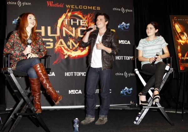 Jacqueline Emerson, Josh Hutcherson and Isabelle Fuhrman