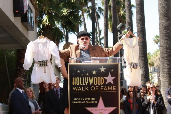 David Mamet at Vanessa Williams, David Mamet and More Celebrate William H. Macy and Felicity Huffman's Walk of Fame Stars!