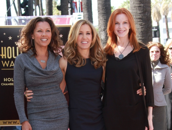 Vanessa Williams, Felicity Huffman and Marcia Cross