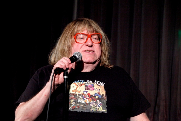 Bruce Vilanch at Jim Caruso's CAST PARTY Visits LA!