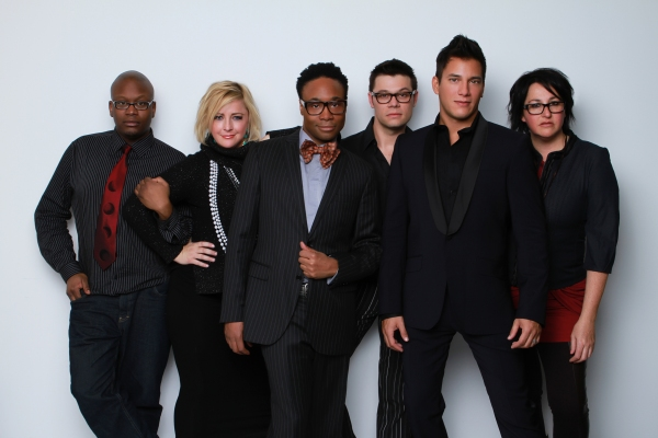 Tituss Burgess, Nikki Snelson, Billy Porter, James Kinney, Nicholas Rodriguez and Annette Tanner