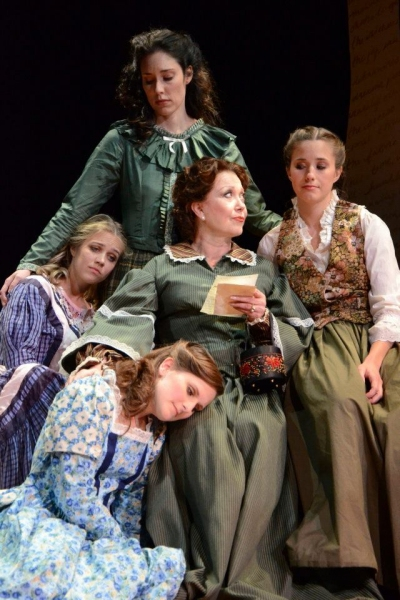 Photo Flash: First Look at  Donna McKechnie in TheatreZone's LITTLE WOMEN!