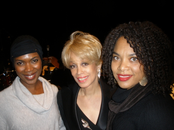 Kenyetta Lethridge, Mercedes Ellington, and Diana Zollicoffer at The Duke Ellington Center for the Arts Presents New Musical, YES!