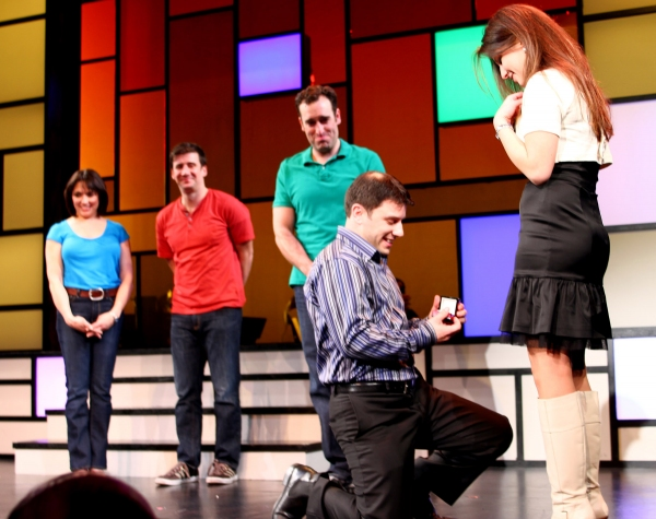 Photo Flash: RATED P FOR PARENTHOOD Welcomes First Marriage Proposal At Westside Theatre