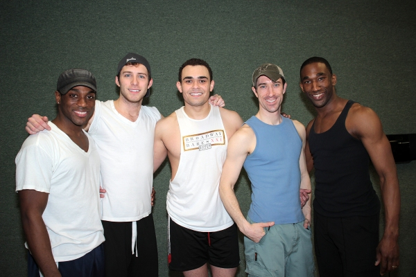 Wilkie Ferguson III, Corey Mach, Andrew Chappelle, Jesse Swimm, Anthony Wayne at The BROADWAY BEAUTY PAGEANT Preview! Brent Barrett and More!