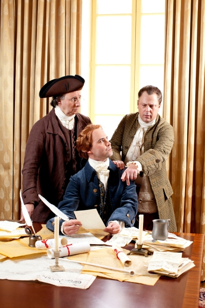 Photo Flash: Robert Cuccioli, Brooks Ashmanskas & More Open in Ford Theatre's 1776 Tonight, 3/9