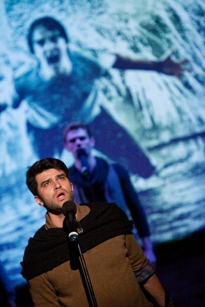 Photo Flash: Ryan Scott Oliver and Matthew Murphy's 35mm in Performance!