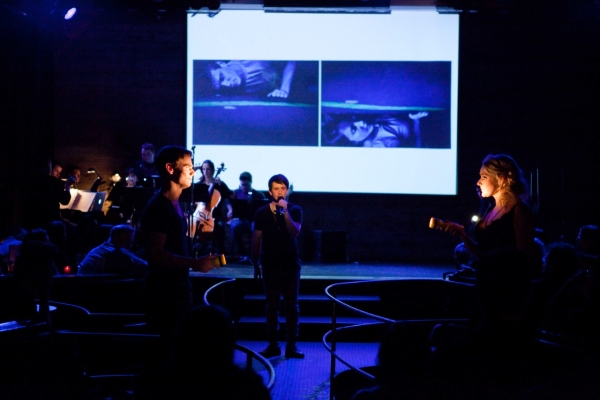 Photo Flash: Ryan Scott Oliver and Matthew Murphy's 35mm in Performance!