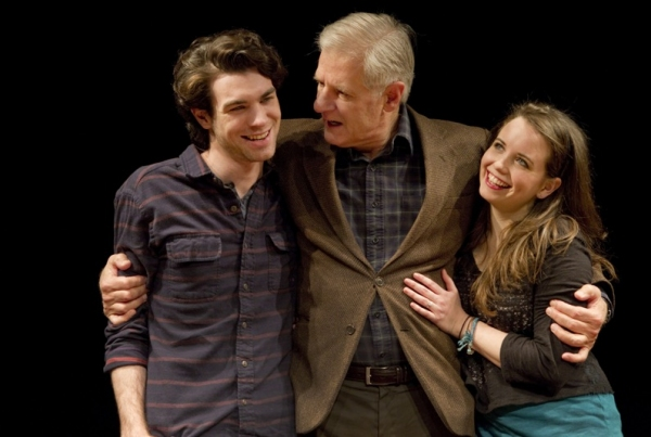 Cameron Scoggins, Tom Bloom and Phoebe Strole