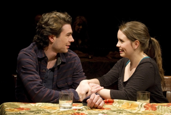 Cameron Scoggins and Phoebe Strole