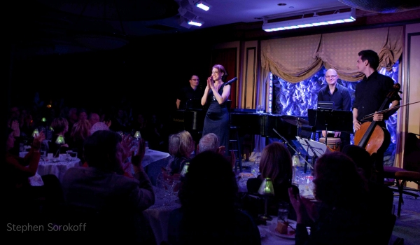 Dan Lipton, Judy Kuhn, Greg Joseph, Peter Sachon at Judy Kuhn Performs at Feinstein's!