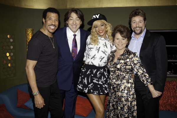 Lionel Richie, Jonathan Ross, Rihanna, Imelda Staunton and Michael Ball