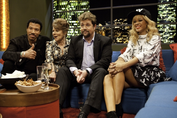 Lionel Richie, Imelda Staunton, Michael Ball and Rihanna