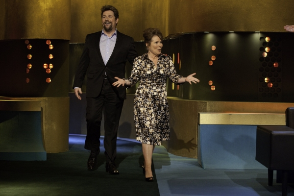 Photo Flash: SWEENEY TODD Begins Previews; Michael Ball & Imelda Staunton Visit The  Jonathan Ross Show!